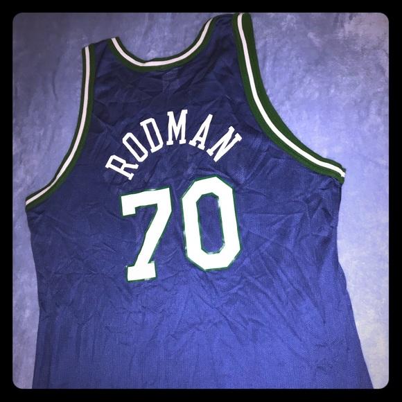 newest collection fcf05 ee8c4 Dennis Rodman, Dallas Mavericks Jersey #70, Size48